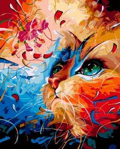 Картина по номерам Bookopt Мечтательный кот 50х40 см (bk_1304) (2252531435013)