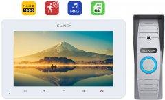 Комплект домофона Slinex AdvancedKit Full HD White-Gray (SM-07MHD(w)+ML-15HD(g))