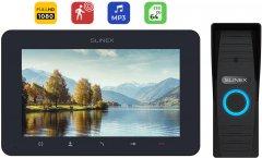 Комплект домофона Slinex AdvancedKit Full HD Gray-Black (SM-07MHD(d/g)+ML-15HD(bl))