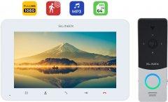 Комплект домофона Slinex ProKit Full HD White-Silver (SM-07MHD(w)+ML-20HD(s/b))