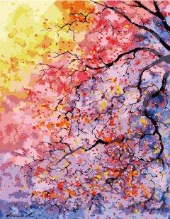 Картина по номерам Bookopt Цветущее дерево 50х40 см (bk_1341) (2252531468011)