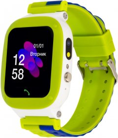 Смарт-часы Discovery iQ4700 Camera LED Light Green