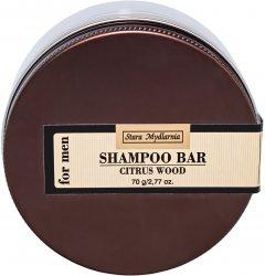 Твердый шампунь Stara Mydlarnia Citrus wood для мужчин 70 г (5901638421845)
