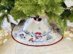 Юбка под елку Limaso новогодняя гобеленовая Ø90 (ROZ6400053827)