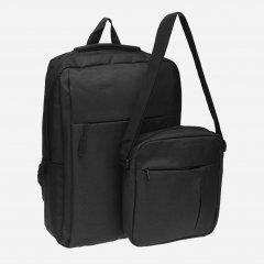 Мужской рюкзак + сумка Remoid VN6802 Черный (ROZ6400011315)