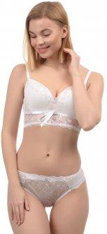Комплект белья WeiyeSi B767 75C/M Молочный с розовым (H2100000206476)