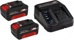 Аккумулятор 2 шт + Зарядное устройство Einhell X-Change 18 В Li-Ion 3.0 Ач (4512098)