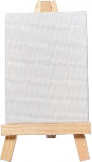 Холст Santi мелкозернистый на подрамнике с декоративным мольбертом 8х6 см (742552)