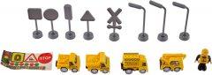 Электрическая железная дорога ZIPP Toys Городской экспресс 92 детали Желтая (5320051)
