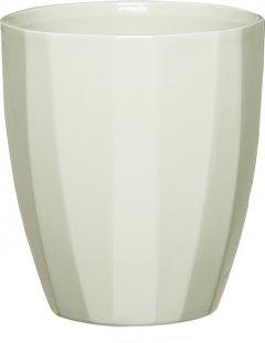 """Кашпо для цветов Scheurich Elegance 14"""" керамика Светло-оливковый (4002477623023)"""