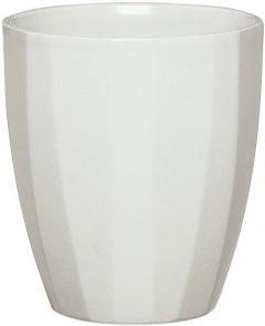 """Кашпо для цветов Scheurich Elegance 14"""" керамика Светло-серый (4002477623085)"""