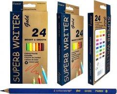Карандаши цветные Marco Superb Writer Gold 24 цвета (4100G-24CB)