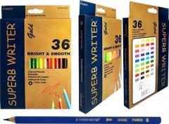 Карандаши цветные Marco Superb Writer Gold 36 цвета (4100G-36CB)
