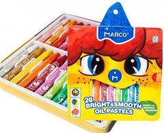 Пастель масляная Marco Bright&Smooth 24 цвета (1100OP-24CB)