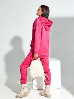 Спортивный костюм ISSA PLUS 12236 L Малиновый (issa2005668884984)