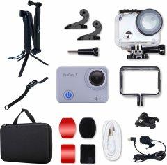 Набор для «Стримера», 15 в 1:экшн-камера AIRON ProCam 7 Touch с аксессуарами (4822356754797)