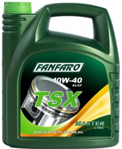 Моторное масло FanFaro TSX SL/CF 10W-40 4 л (690/4)