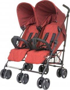 Прогулочная коляска для двойни 4Baby Twins Red (4TW03)