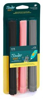 Набор стержней для 3D-ручки 3Doodler Start Микс 75 шт (3DS-ECO-MIX3-75)