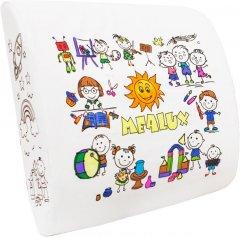 Подушка-раскраска Mealux Memory foam к креслу с фломастерами 33x32 (PM-01)