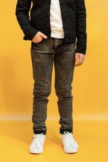 Джинси A-yugi Jeans 122 см Темно-сірий (2125000655598)