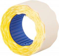 Этикет-лента Economix 26 x 12 мм 500 шт/уп 10 рул. Желтая (E21304-05)