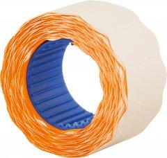 Этикет-лента Economix 26 x 12 мм 500 шт/уп 10 рул. Оранжевая (E21304-06)