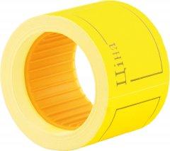 Этикет-лента Economix 50 x 40 мм 100 шт/уп 5 рул. Желтая (E21307-05)