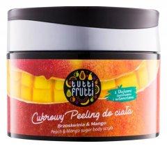 Farmona Tutti Frutti Peach Mango цукровий пілінг для тіла (300 гр)