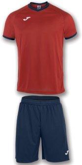 Футбольная экипировка Joma Academy 2XS Красно-Темно-синяя (101097.603_2XS)