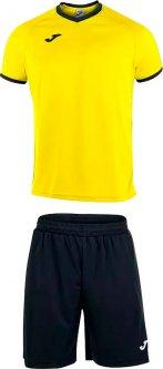Футбольная экипировка Joma Academy 2XS желто-черная (101097.901_2XS)