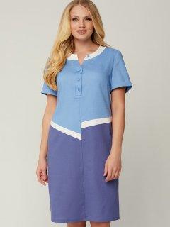 Платье All Posa Рената 100042 50 Голубое