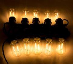 Светодиодная гирлянда Маг2000 10 ламп 12 м Белый теплый (5102682930066)