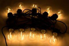 Светодиодная гирлянда Маг2000 10 ламп 12 м Белый теплый (5102682930042)