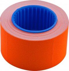 Этикет-лента Buromax 26 х 16 мм 375 этикеток прямоугольная внешняя намотка 10 шт Оранжевая (BM.282103-11)
