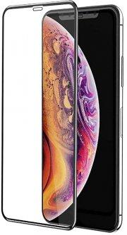 Защитное стекло Baseus Full-Screen Frosted для Apple iPhone Xs Max Black (SGAPIPH65-KM01)