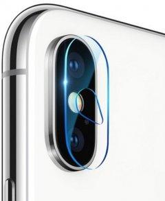 Защитное стекло Baseus Camera Lens Glass Film для Apple iPhone X Transparent (SGAPIPHX-AJT02)