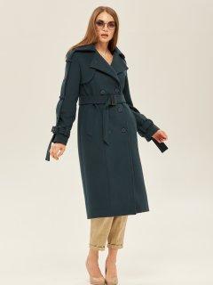 Пальто Mila Nova ПВ-93ех 44 Зеленое (2000000047188)