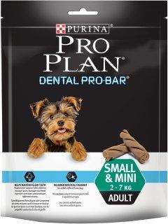 Лакомство для взрослых собак малых пород Purina Pro Plan Dental Probar для поддержания здоровья полости рта 150 г (7613036287357)