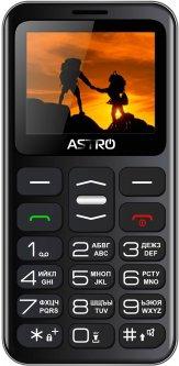 Мобильный телефон Astro A169 Black/Gray