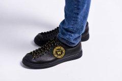 Чоловічі кеди Maya Shoes 204-6 Чорні 43р