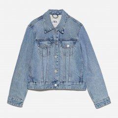 Джинсовая куртка Zara XAZ229557WXNP XS Джинсовая (DD8000004631547)