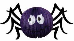 Декор подвесной бумажный 3D Yes! Fun Хэллоуин Паук 20 см (973637)