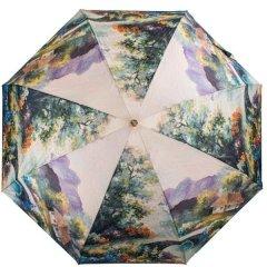 Женский компактный облегченный механический зонт Trust ztr58476-1618
