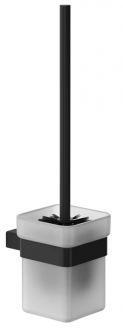 Ёршик для унитаза GENWEC Pompei GW05 63 04 03 черный матовый