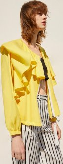 Ветровка Mango 830LM810 S Желтая (5000000484164)