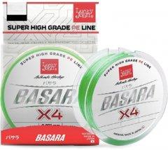 Шнур плетёный Lucky John BASARA Х4 PE 125 м 0.154 мм Light Green (LJ4102-015)