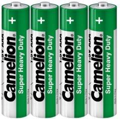 Батарейка Camelion R03 / 4 Shrink Green 4 шт (R03P-SP4G)