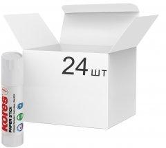Набор клея-карандаш Kores Paper Stick Сухой Прозрачный 10 г 24 шт (K17103)