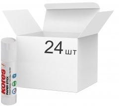 Набор клея-карандаш Kores Paper Stick Сухой Прозрачный 15 г 24 шт (K17153)